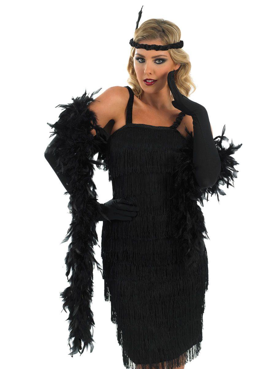 1920 39 s girl black flapper dress 1920 39 s flapper costumes. Black Bedroom Furniture Sets. Home Design Ideas