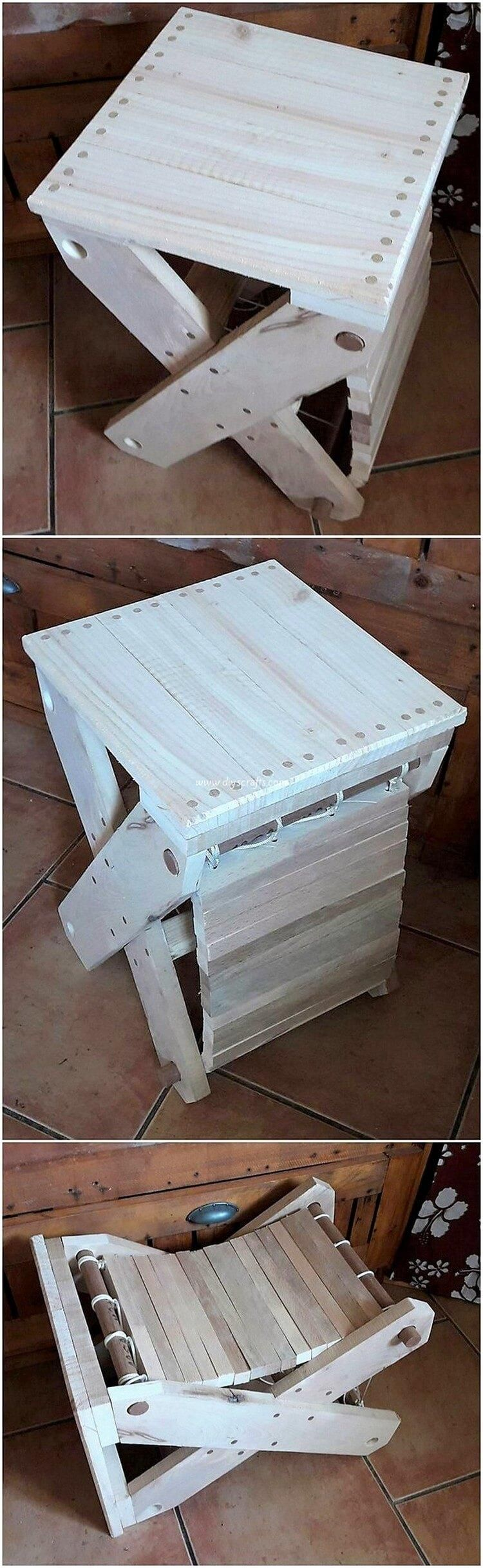 Awesome DIY Ideas with Old Pallets #oldpalletsforcrafting
