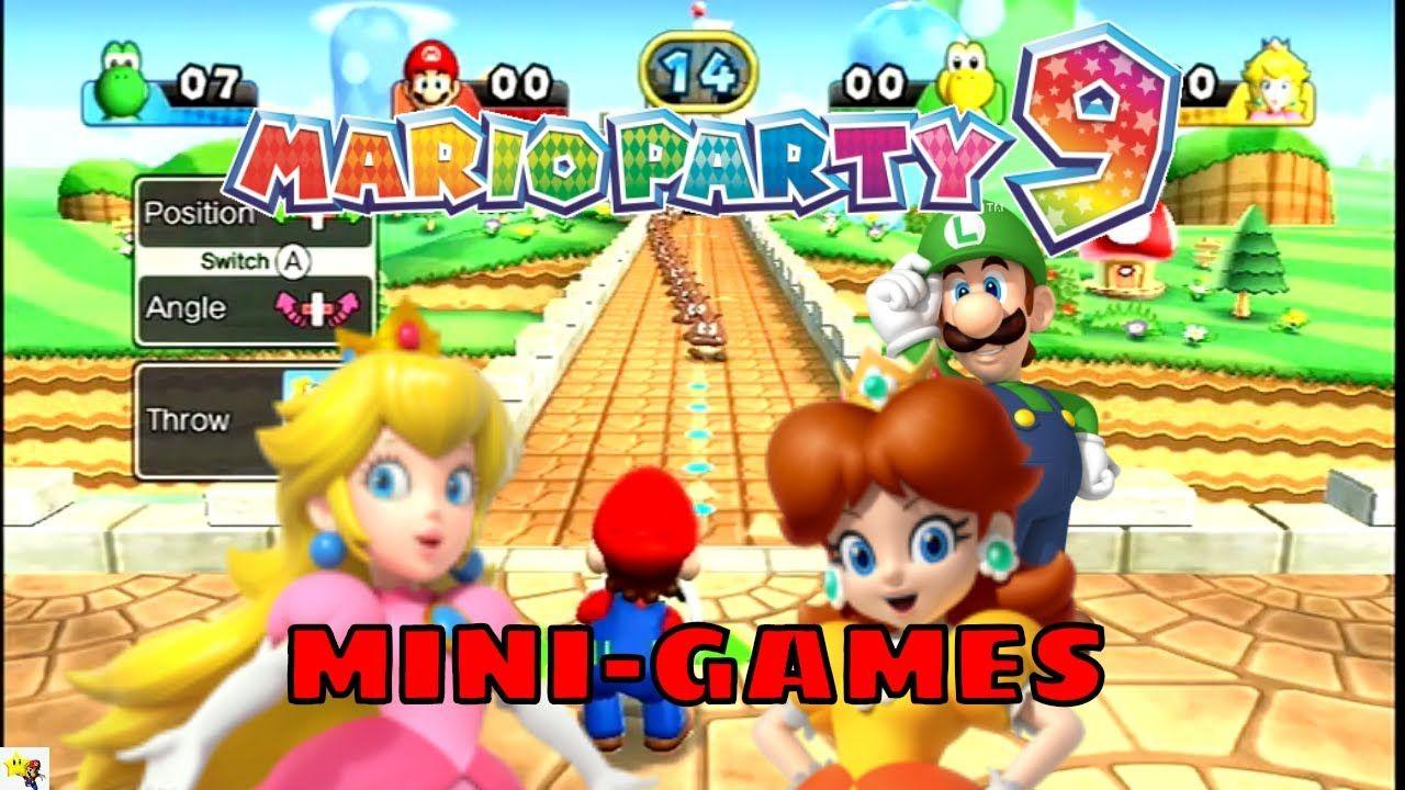 Mario Party 9 Mini-Games Nintendo Free Play Gameplay #marioparty