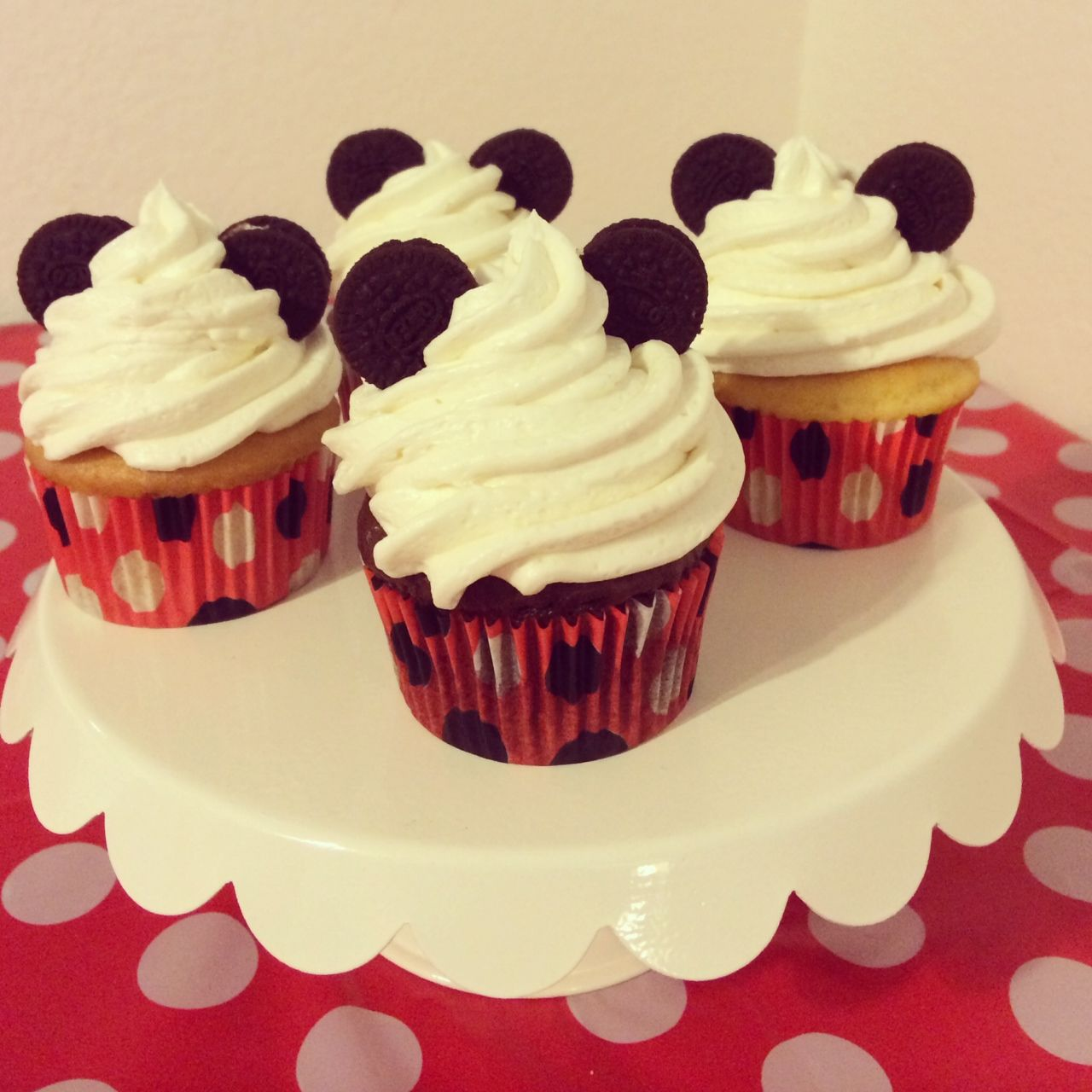 Image result for mickey mouse cupcakes ideas Food Glorious Food