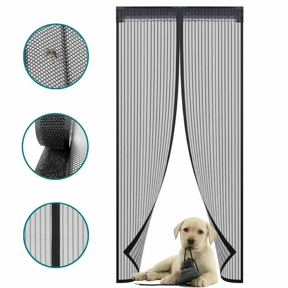 Details About Magnetic Screen Fits Door 36 X83 With Durable