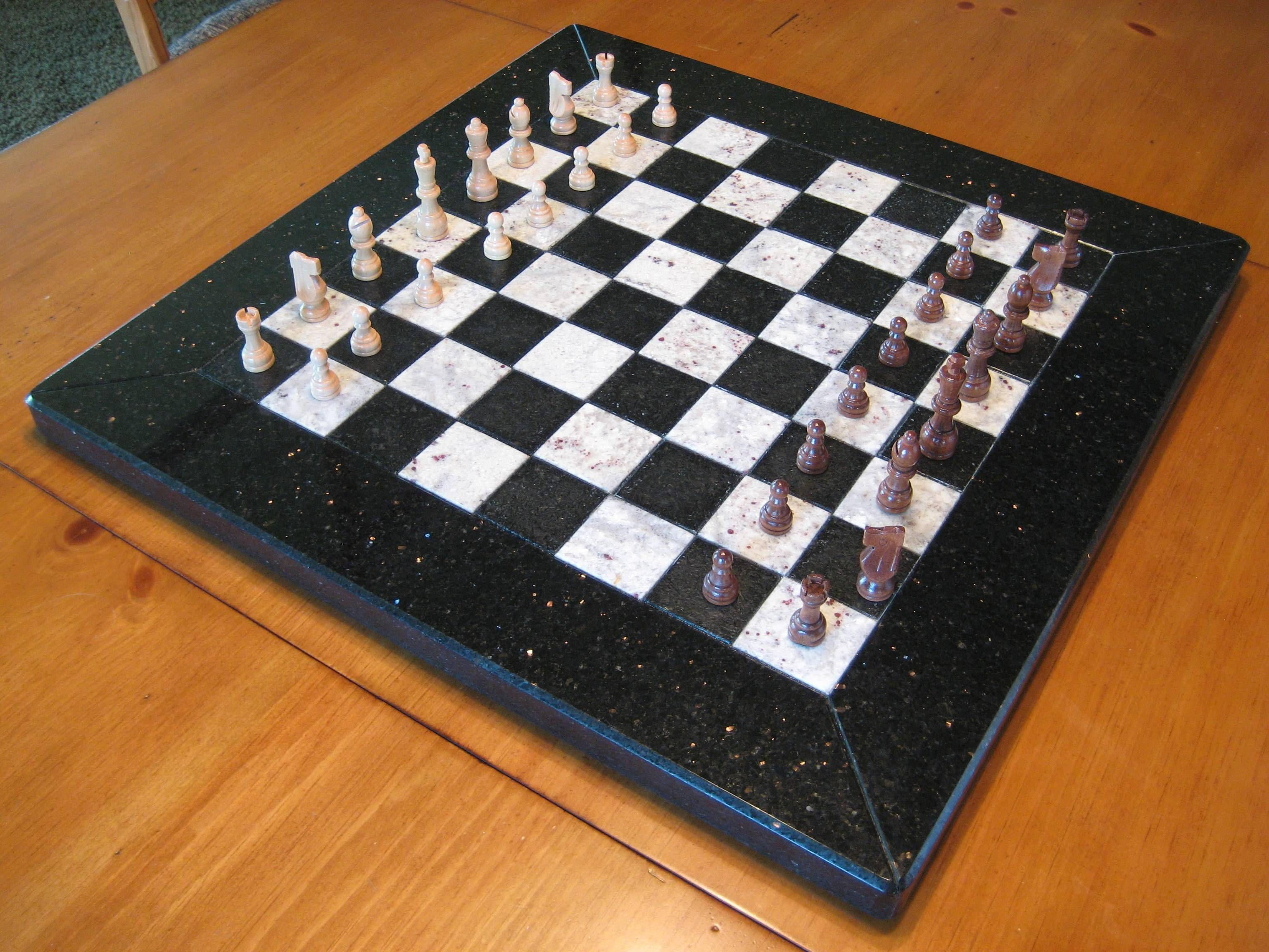 Beautiful chess sets Chess board, Settings, Marble granite