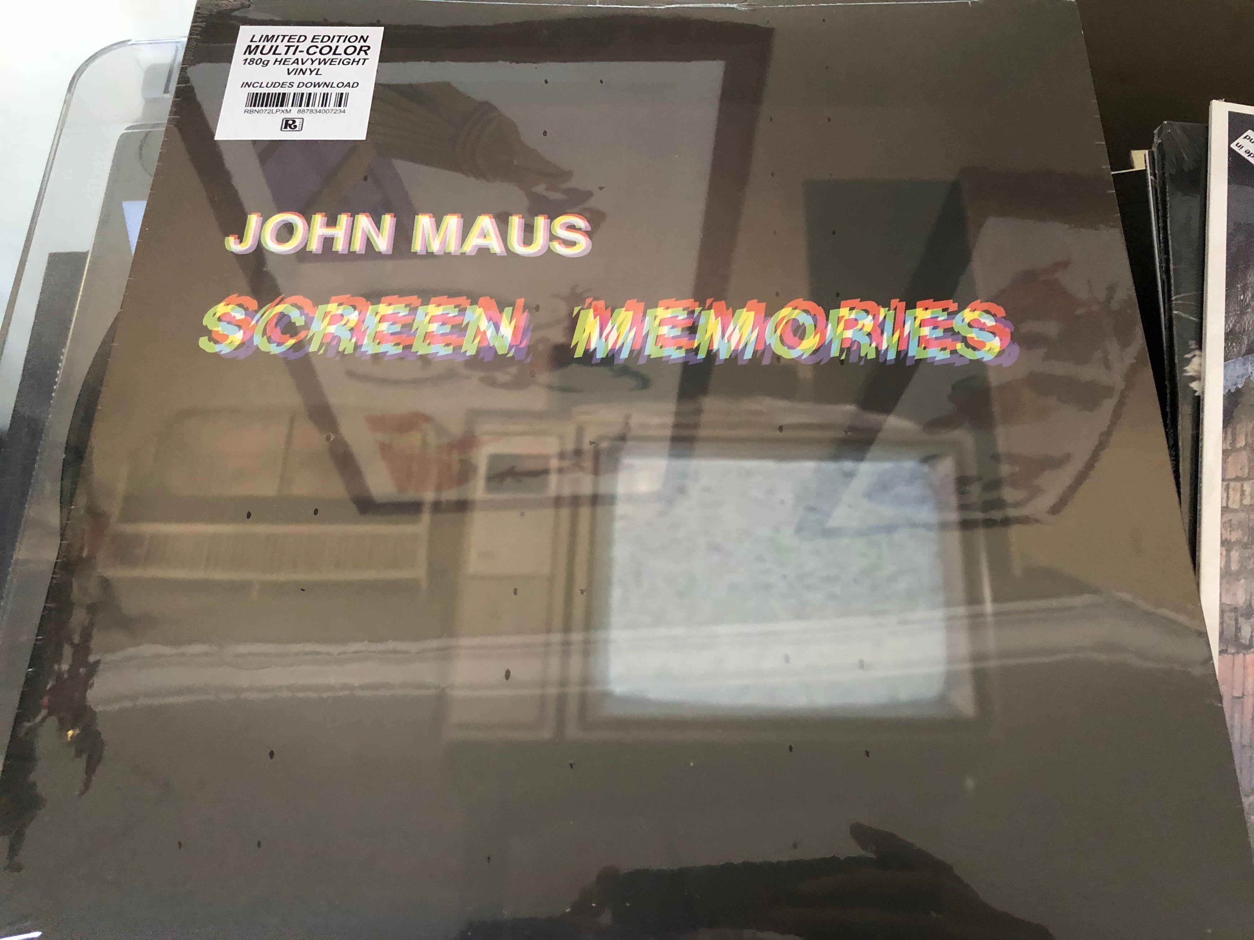 John Maus Screen Memories Colored Vinyl Vinyl Record Collection Vinyl Records Vinyl
