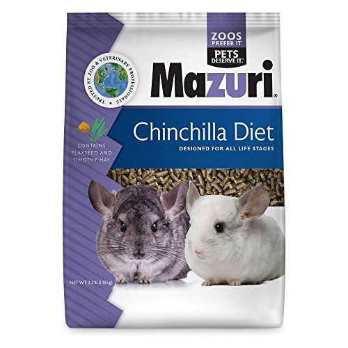 Mazuri Chinchilla Diet - 2.5 lb