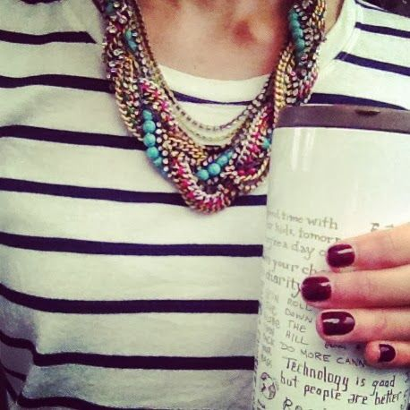 One of my favorite necklaces that i own.  Stella and Dot Bamboleo.  shop it ... {www.stelladot.com/ashleymask}