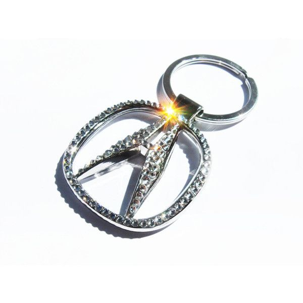 BLING Acura Keychain With Swarovski Crystals Acura Sleutelhanger - Acura keychain
