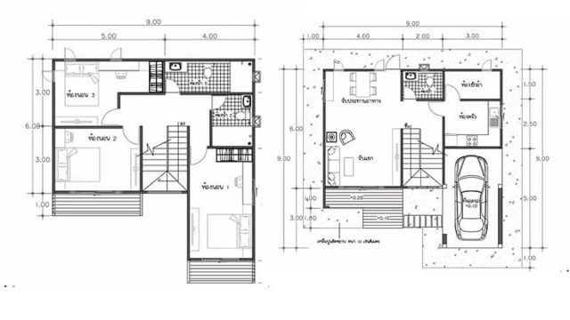Best House Plans Idea 9X9 With 3 Bedrooms House Plans Home 640 x 480