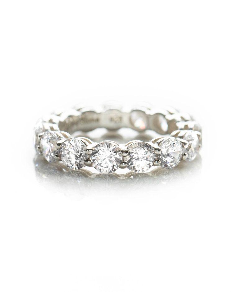 Round Constellation Band Custom Diamond Rings