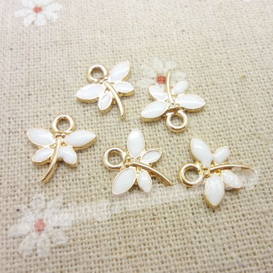 Wholesale 55pcslot enamel alloy gold plated jewelry dragonfly wholesale 55pcslot enamel alloy gold plated jewelry dragonfly pendants charms for bracelet necklace diy jewelry making aloadofball Gallery