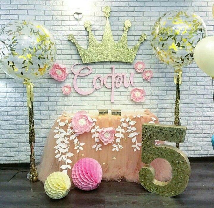 Вечеринка в честь дня рождения принцессы