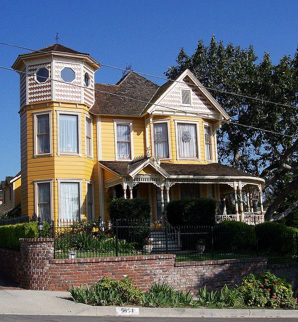 Haunted Places In Pico Rivera California: Harvey's Home, Built In 1888, Whittier, CA
