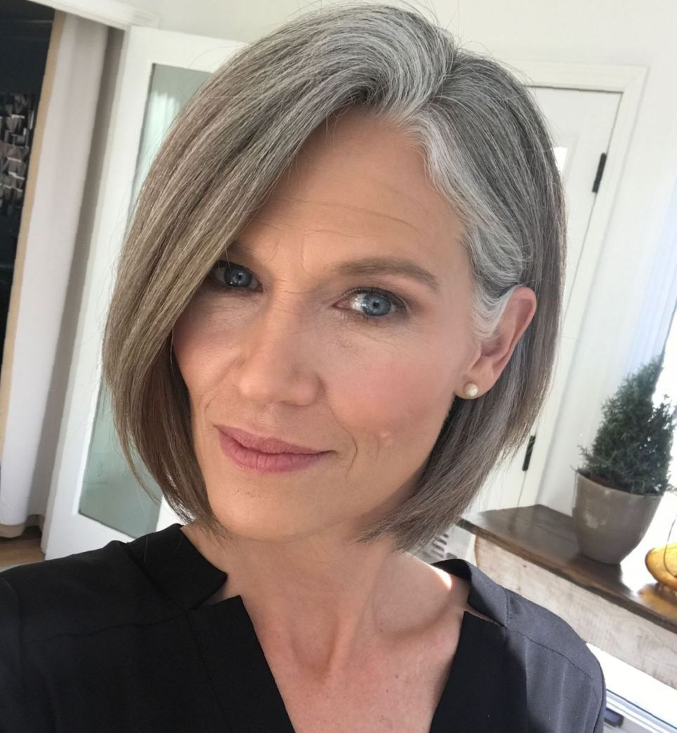 60 gorgeous gray hair styles | grombe inspiration - going
