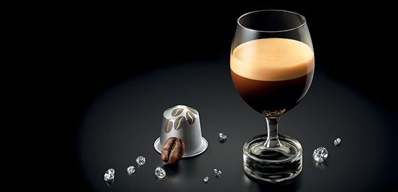 Coffee in a glass render