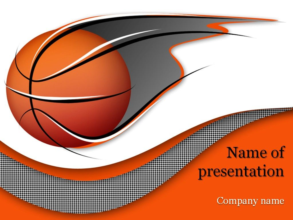 Basketball Powerpoint Template Basquet Baloncesto Powerpoint