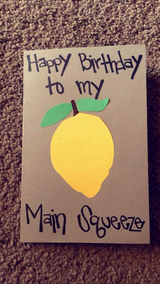 Homemade Birthday Gifts For Boyfriends Easy Craft Ideas