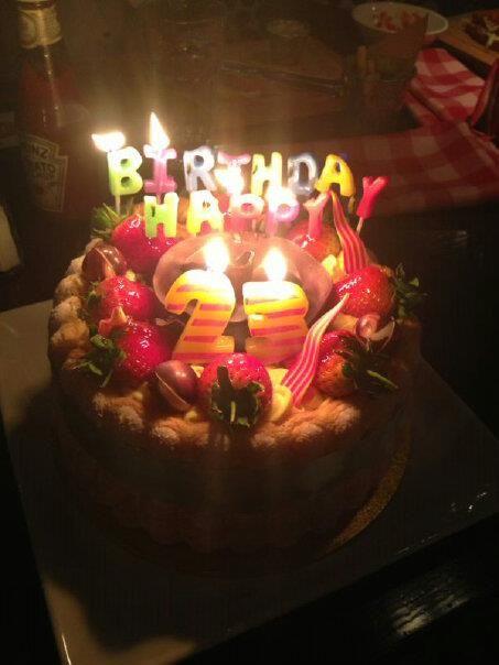 Charlotte gateau cake
