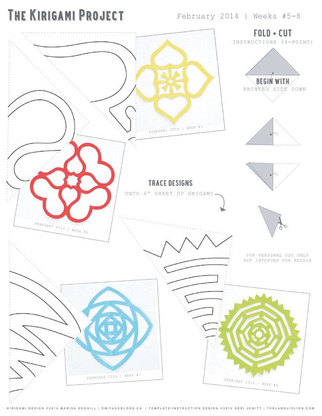 kraft monster kirigami paper projects diy stuffs pinterest