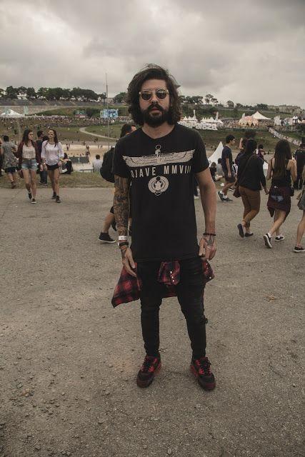 ffffcc734c4e5 Macho Moda - Blog de Moda Masculina  Os Looks Masculinos do LollaPalooza  Brasil 2016