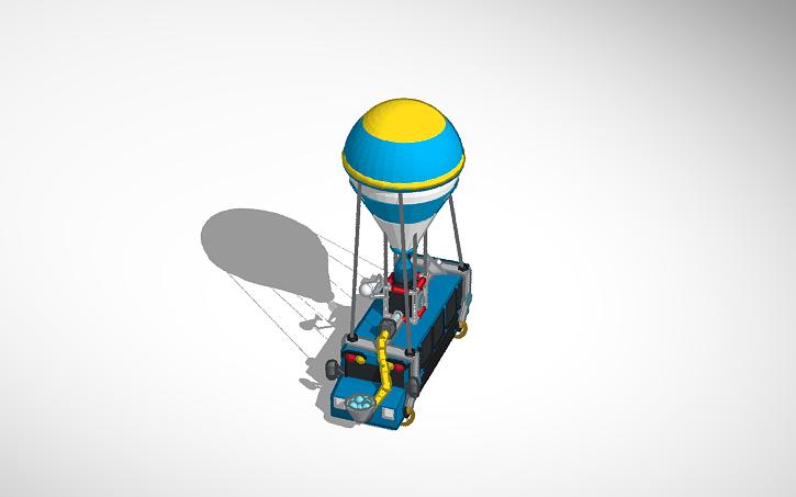 Fortnite Battle Bus Battle 3d Design Fortnite