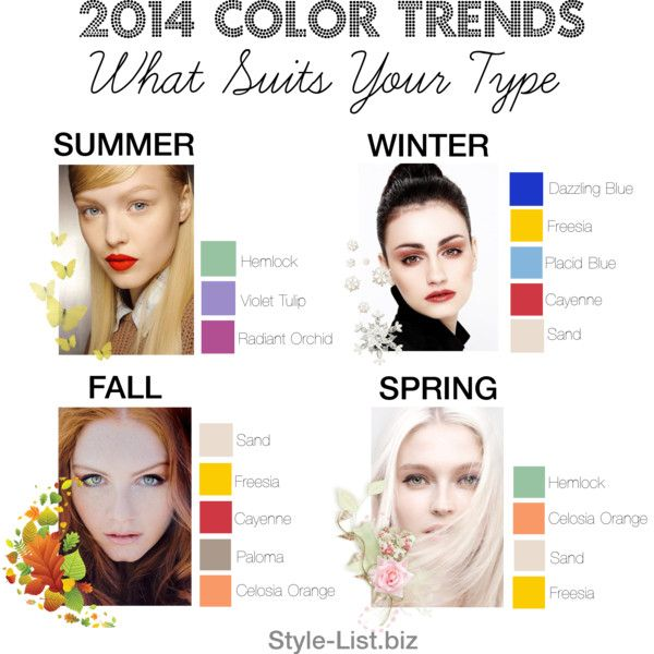 2017 Color Trends By Http Style List Biz What Suits You Types Simple Version Summer Light Colored Hair In Sandy Sort Of Shades Blue Eyes Pale Skin
