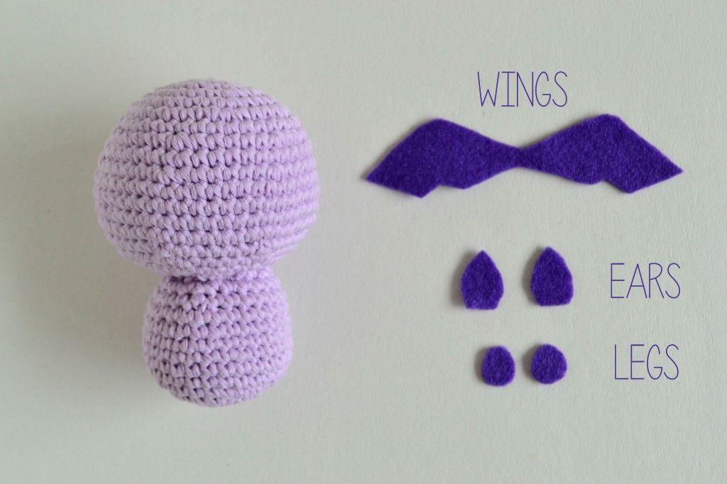 Croby Patterns | Free Crochet Pattern – Crochet Bat Batsy | cool ...