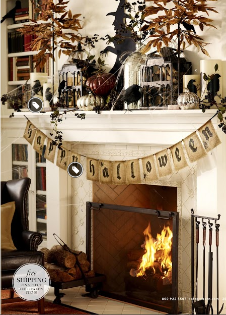 25 Spooky Halloween Mantels Diy Tips Halloween Mantel