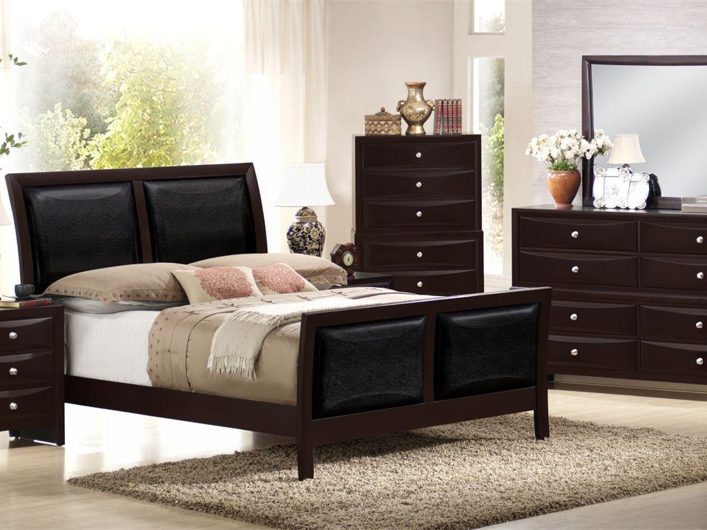Olivia QS Bedroom Set $1.495 QS Bed, Dresser, Mirror, Nightstand ...