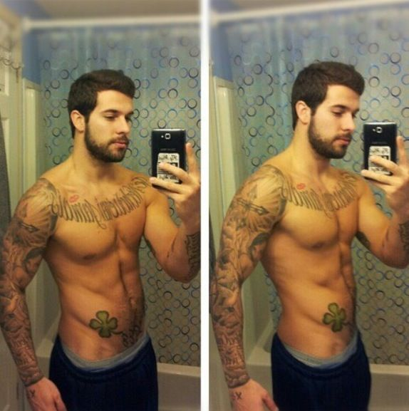 Pin By Mytorius On Believe Tattoo Men: Cute Mystery Tattoo Guy. The Only Way You'd Be Hotter Is