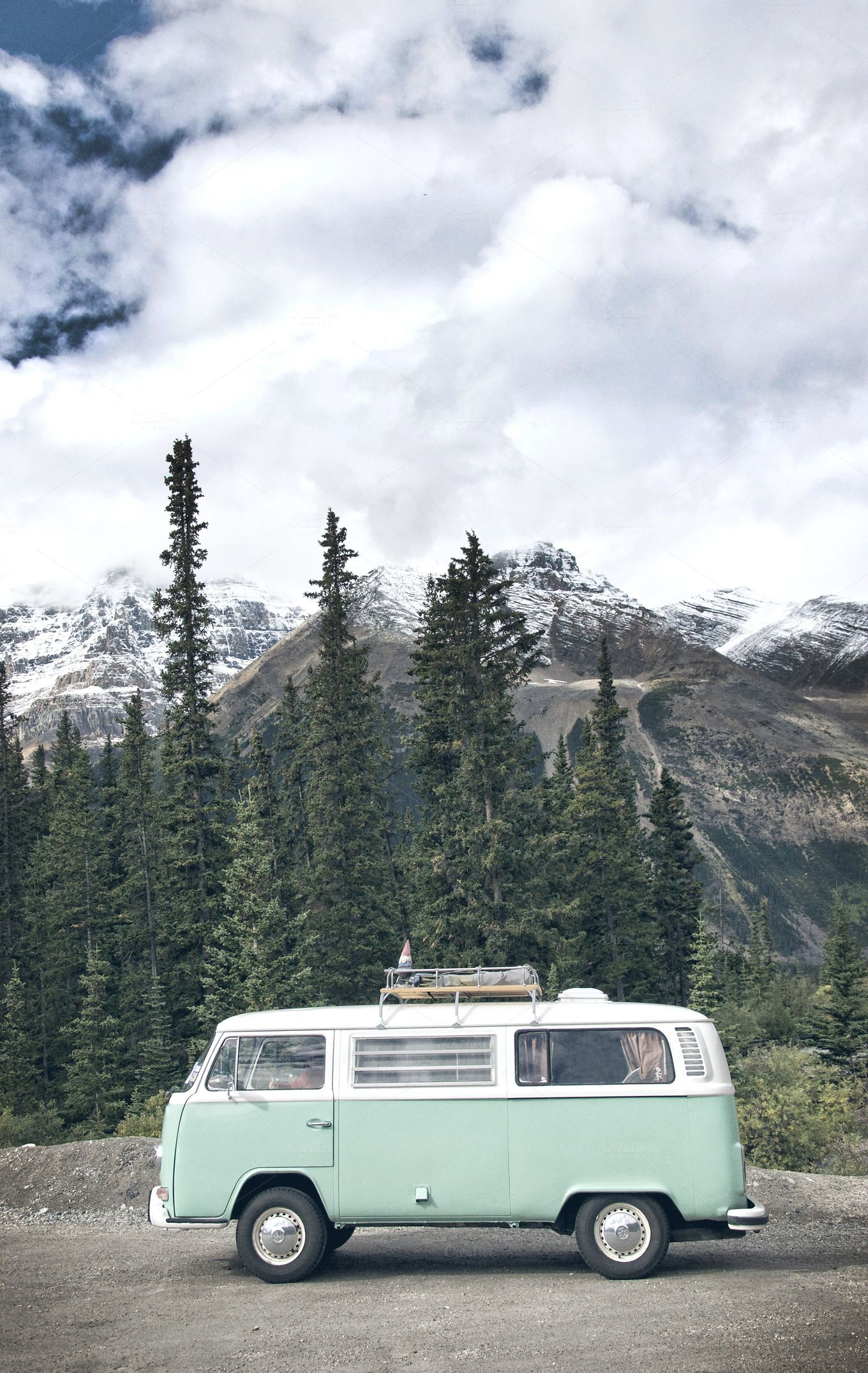 Need This Van VW Bus In The Mountains Of Alberta Canada Shot By Crux Creative Adventure Travel Nomad
