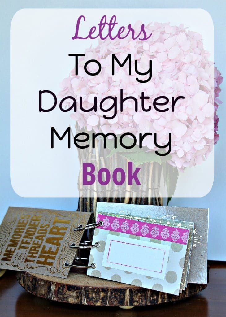 Letters To My Daughter Memory Book  Keepsakes Envelopes And Sons