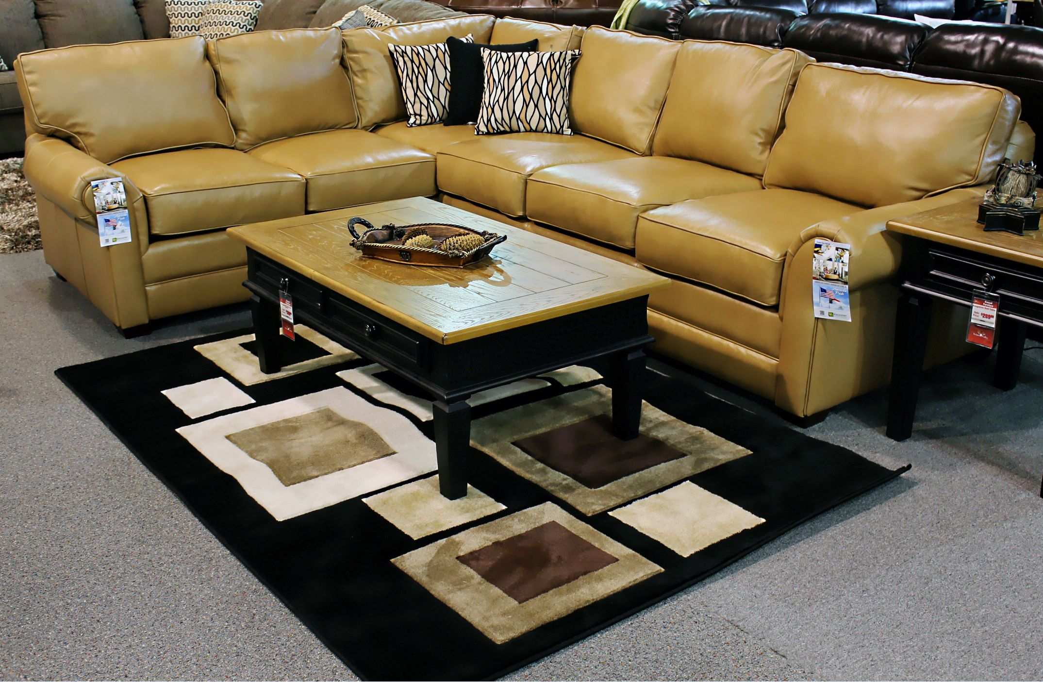 The Selma Sectional By Ellis Home Furnishings.