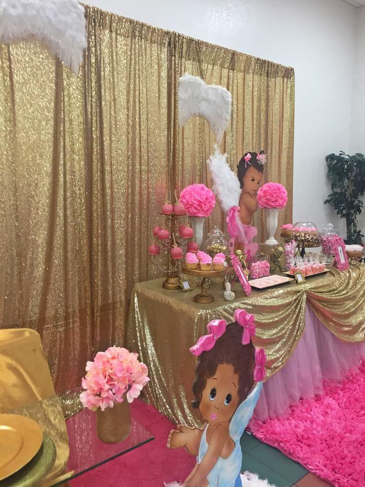Angel Heaven Baby Shower Party Ideas In 2019 Products