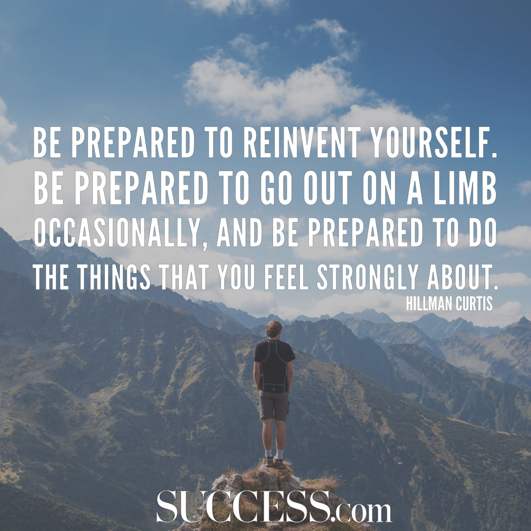 17 Inspiring Quotes About Reinventing Yourself | adventurous