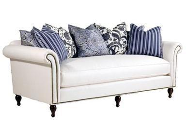 Best Live Breathe Decor White Sofa Hamptons Blue White Pillows 400 x 300