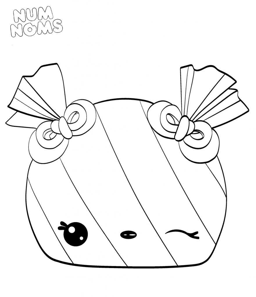 Num Noms Season 3 Coloring Pages Peyton Peppermint Favorite Places