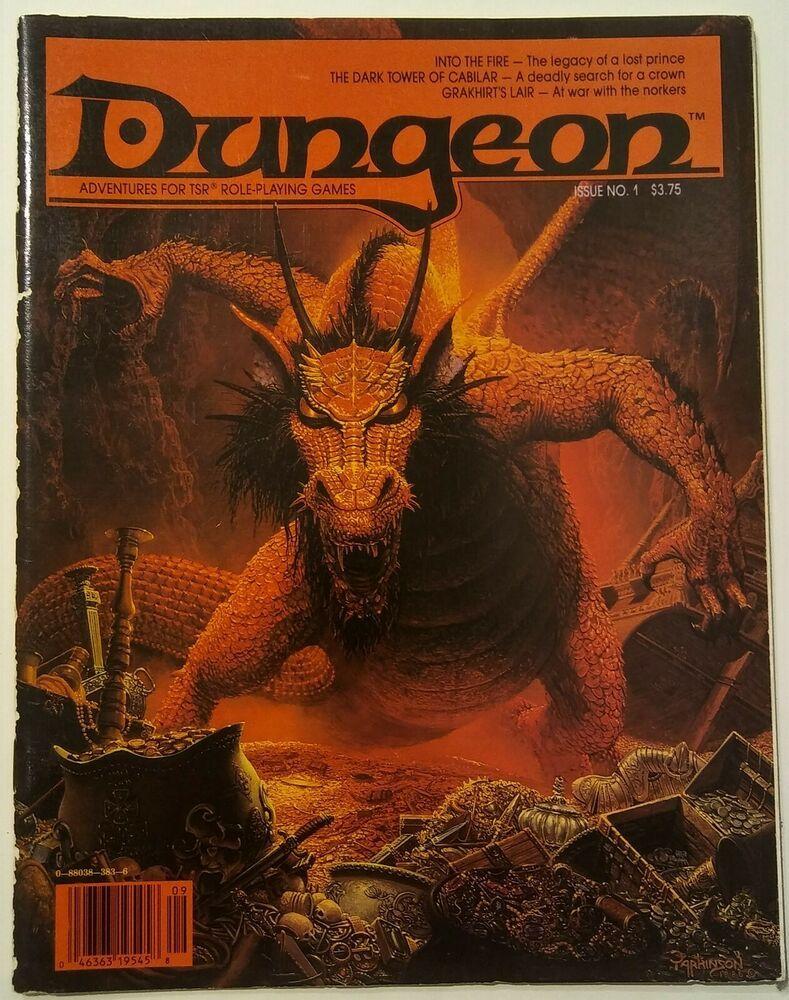 Dungeon Adventures Magazine 1 September October 1986 TSR