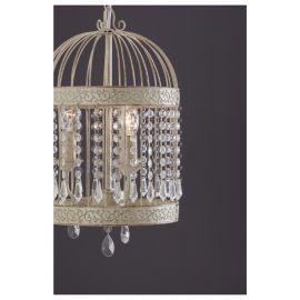 Buy Tesco Lighting Birdcage Chandelier Antique Cream from our ...
