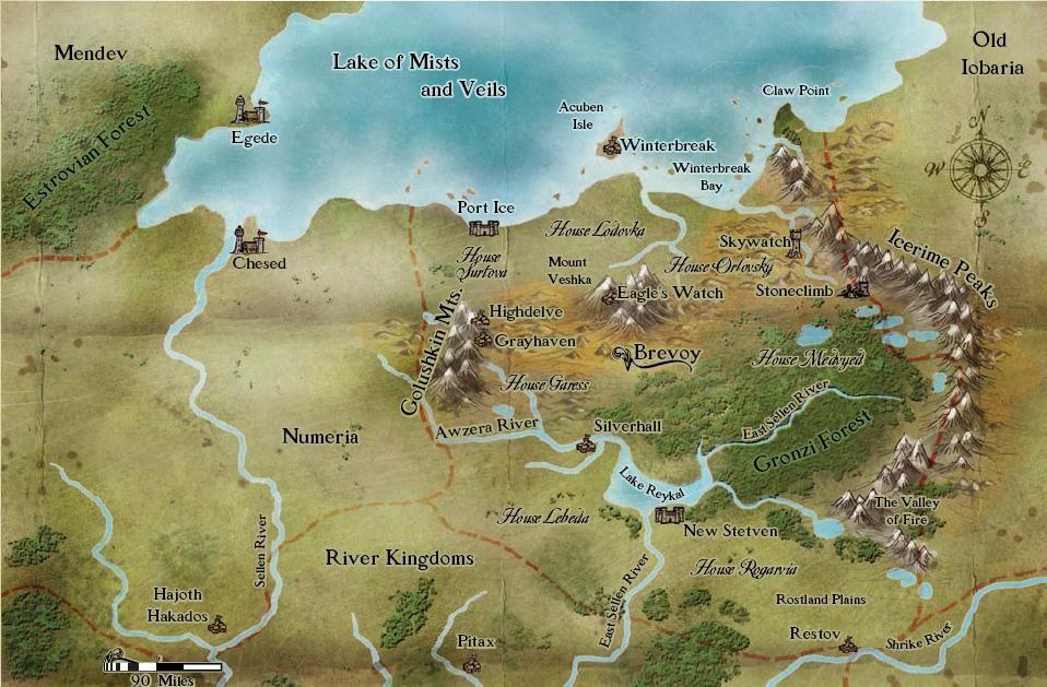 Pin by Glenn Wallace on RPG Maps | Fantasy map maker ...