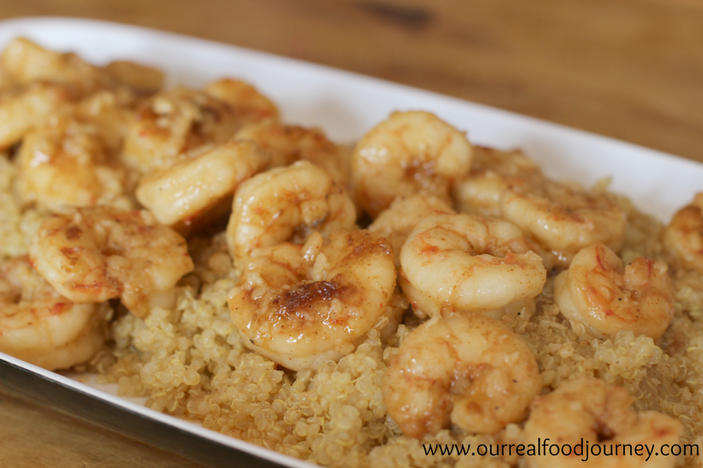 Recipe: Buttery Garlic Shrimp