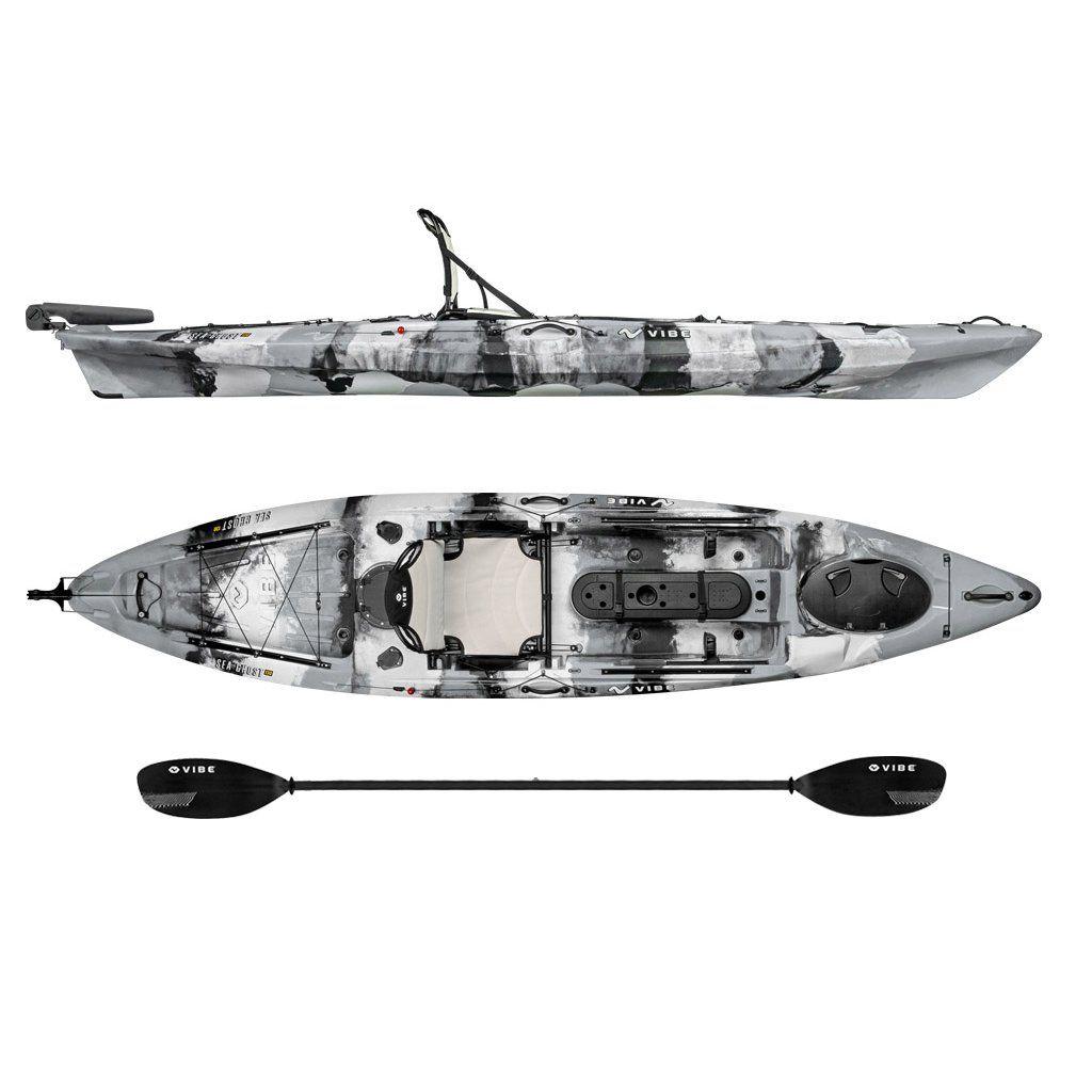 Canoe Storage ** Vibe Sea Ghost 130 Angler Kayak >>> See