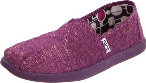 Skechers Women`s Bobs World Slip-On Fashion Sneaker $24.38 #topseller
