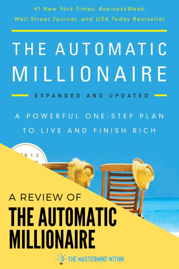The Automatic Millionaire Book Summary Automatic Millionaire Millionaire Books