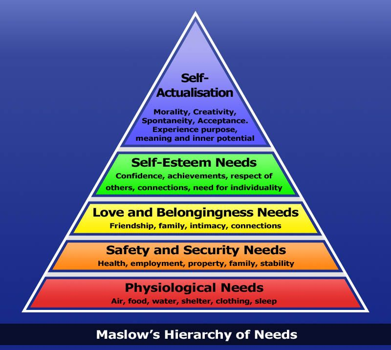 #maslow heirachy of needs #psychology #