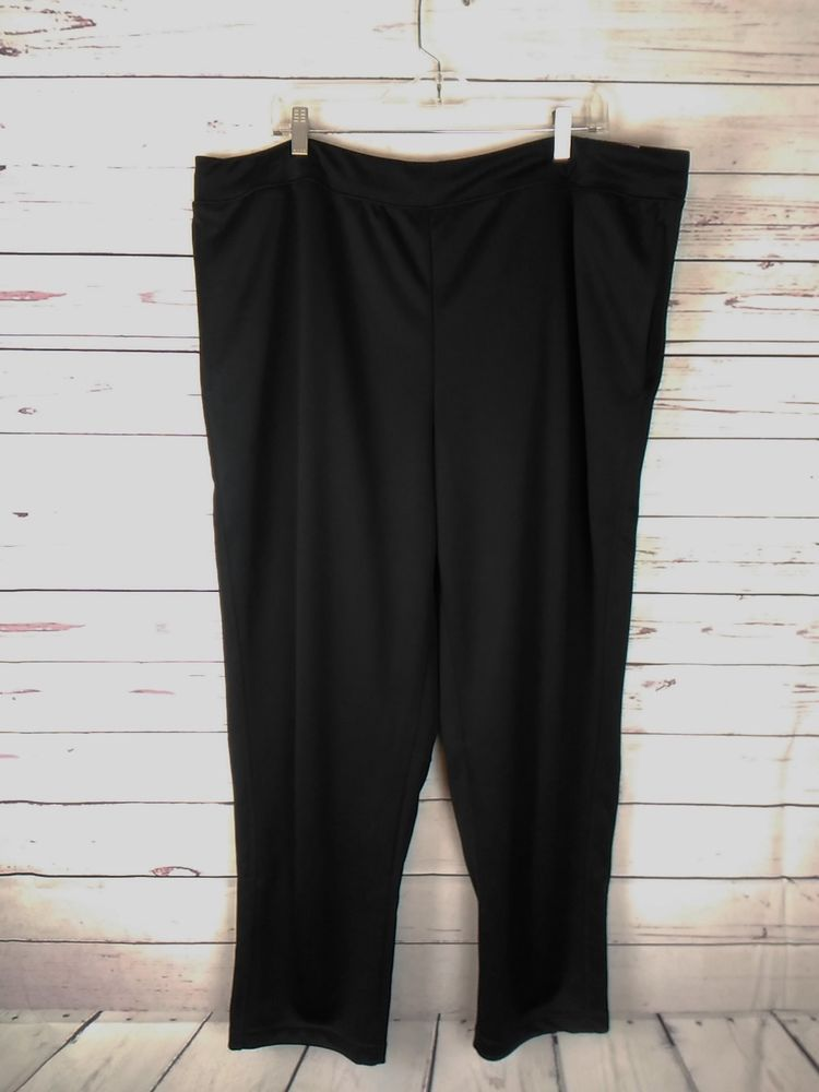 6ee2a78f9de8 Champion Women s XXL (2XL) Black Duo Dry Moisture Wicking Athletic Pants  NWT  Champion