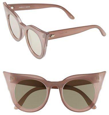 3deb3f1b7349e Women s Le Specs  Flashy  51Mm Sunglasses - Taupe -  69 http