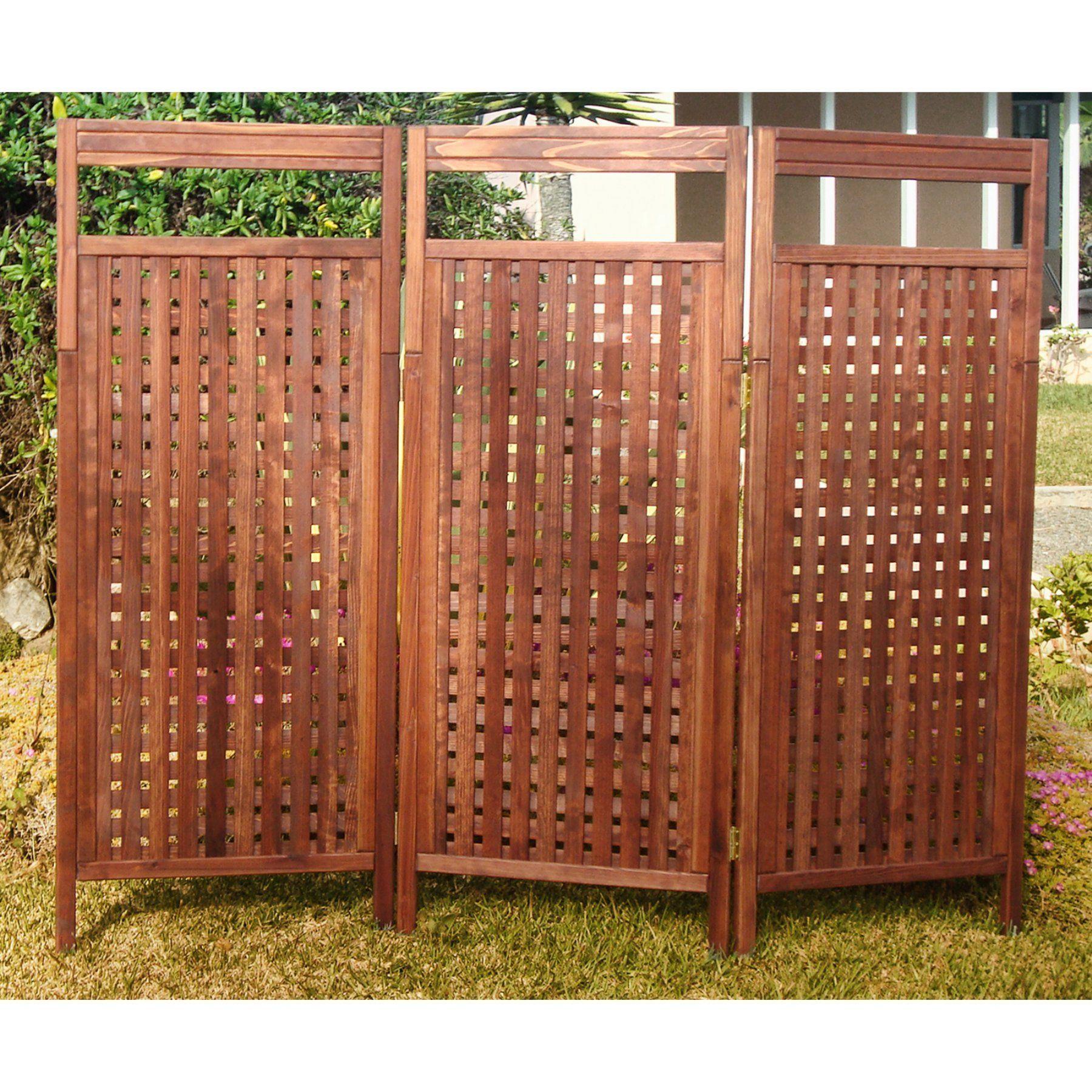 Best redwood deluxe outdoor privacy screen prsdeb