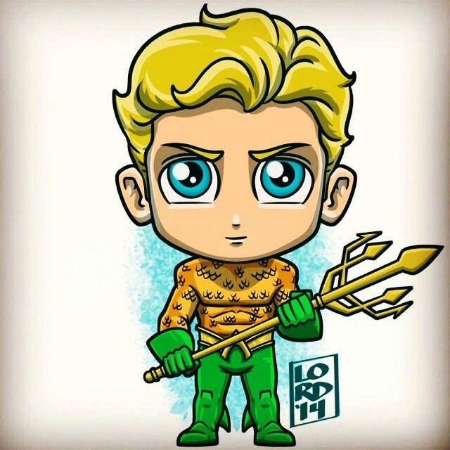 Aquaman chibi | Batman caricatura, Superheroes dibujos, Avengers caricatura