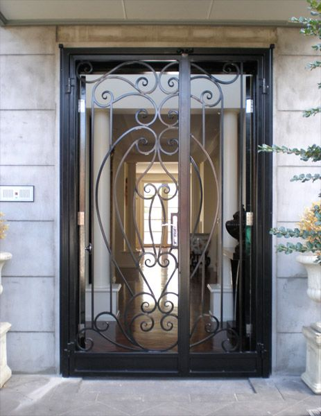 Ornamental Iron Security Doors | Wrought Iron Doors Bayswater Melbourne | Warp Ironworks & Ornamental Iron Security Doors | Wrought Iron Doors Bayswater ... Pezcame.Com