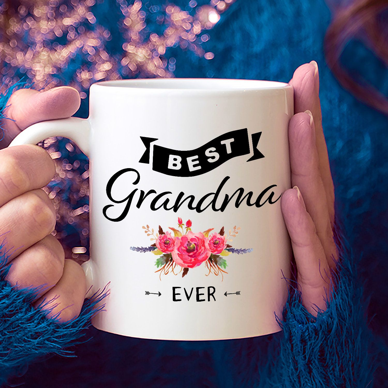 Best Grandma Ever Coffee Mug Gift For Grandmother Mothers Day New 90th Birthday Ideas 90 Year Old Woman By