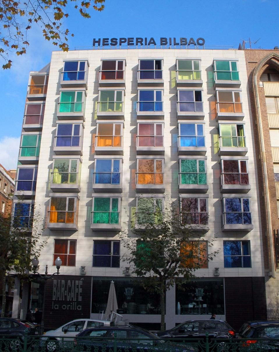 Travel In Color Hotel Hesperia Bilbao Spain